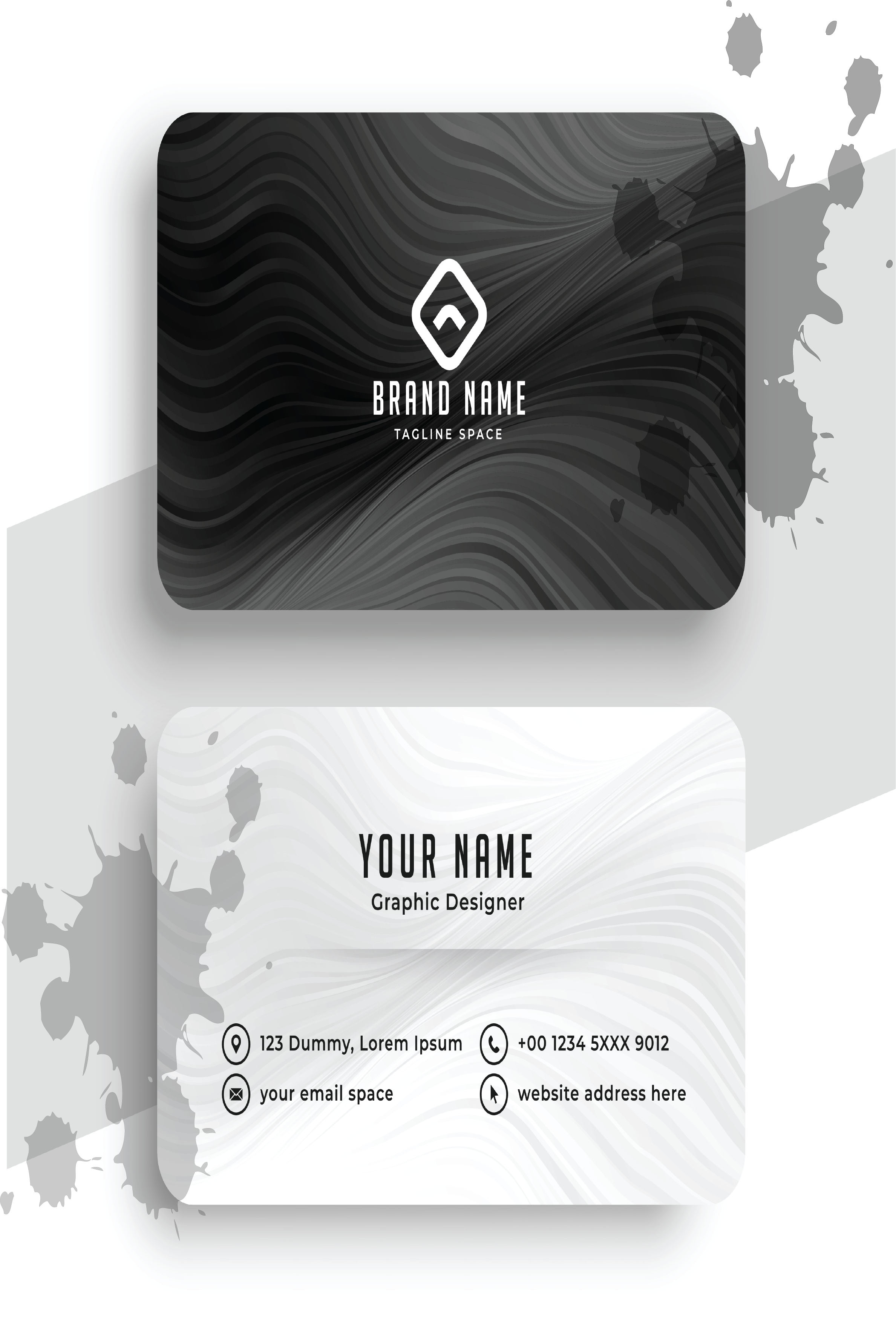 I will create modern and unique business cards for you