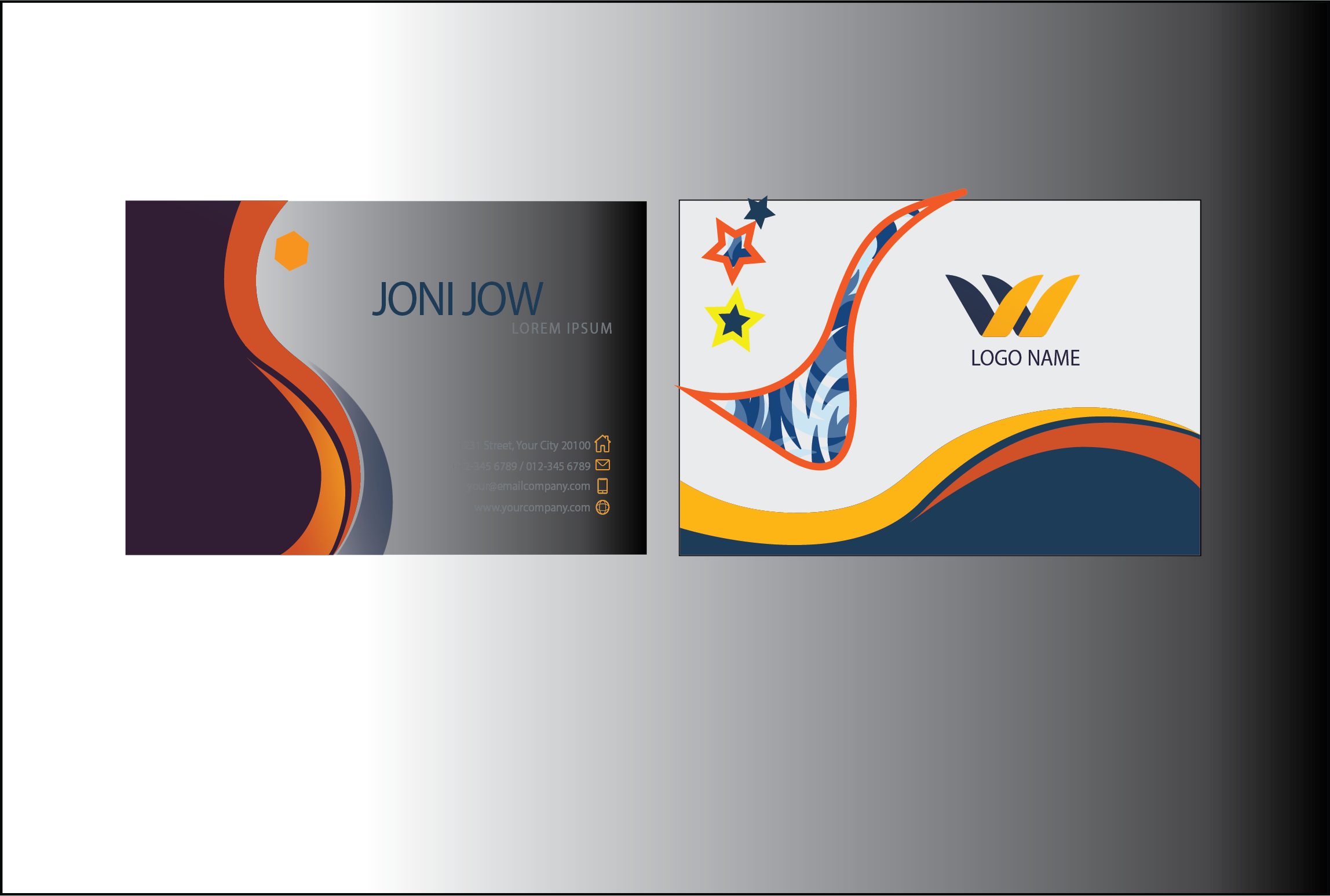 I will design unique and professional business cards for you