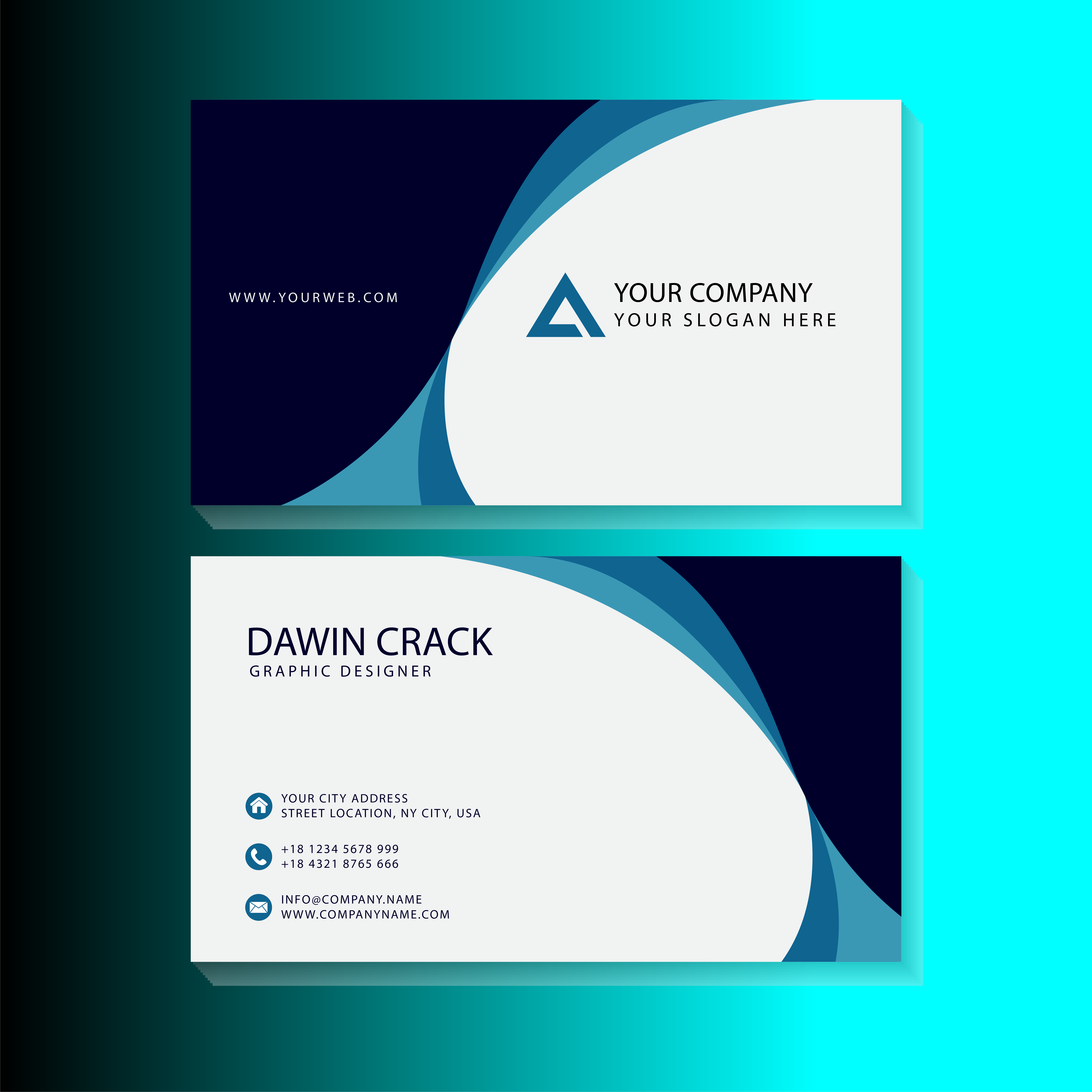 I well do most creative business card for you