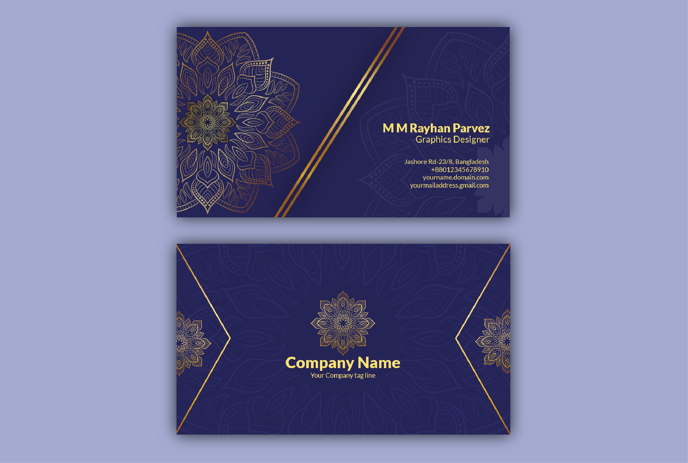 I will design a Unique Professional & Premium quality Business Card for you within 24 hours