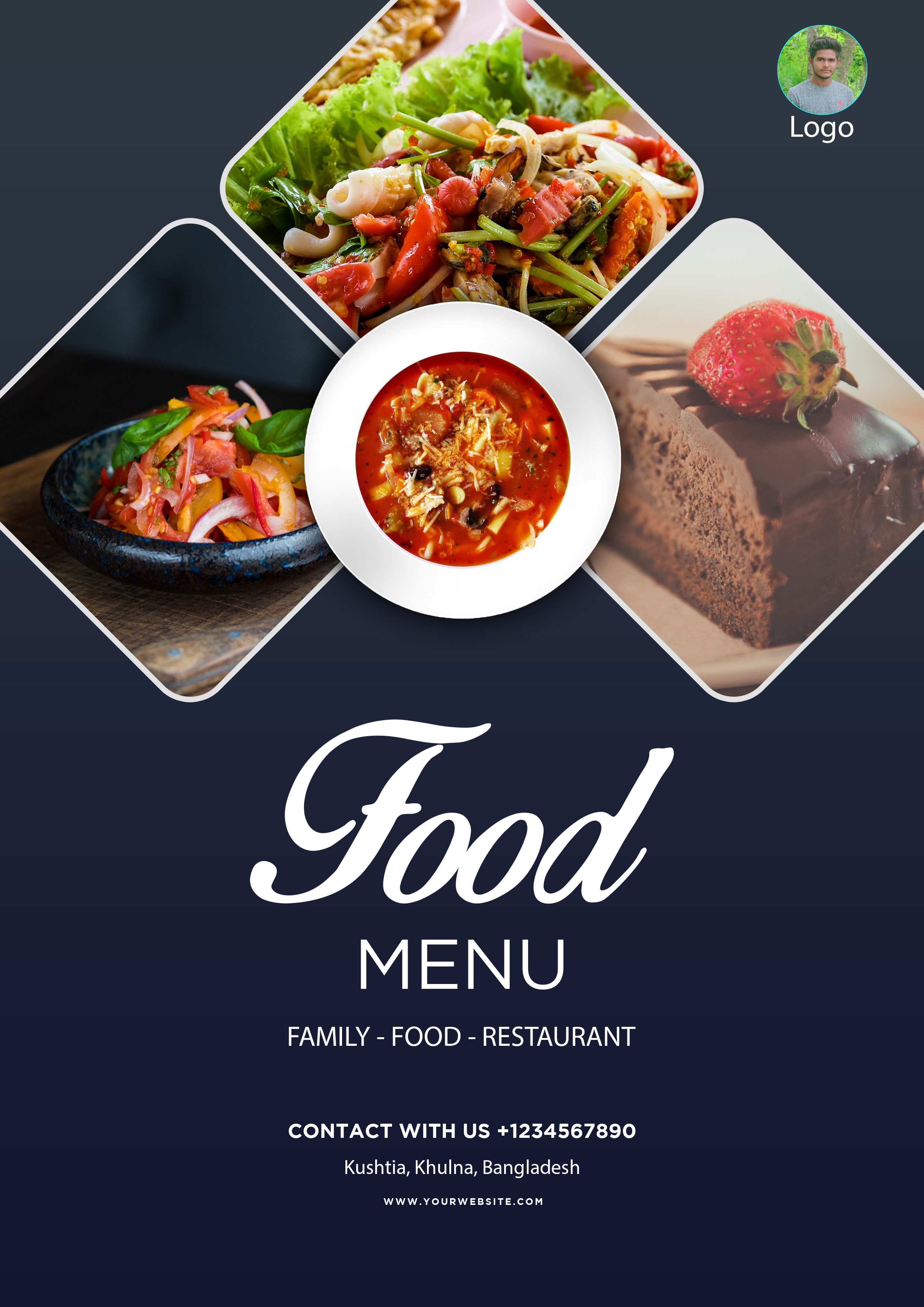 I will do create an attractive flyer design for you