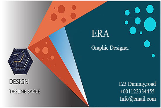 I will design professional and creative business card for you.