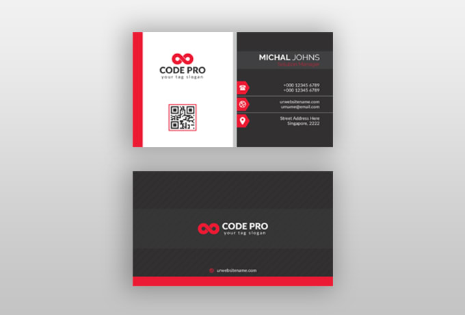I will desing cretive business card for you