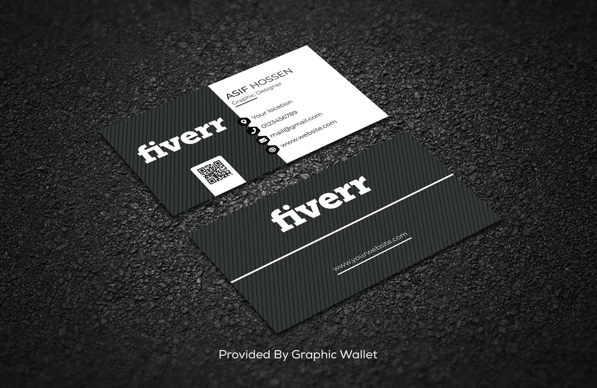 I will design premium business card with custom graphics.