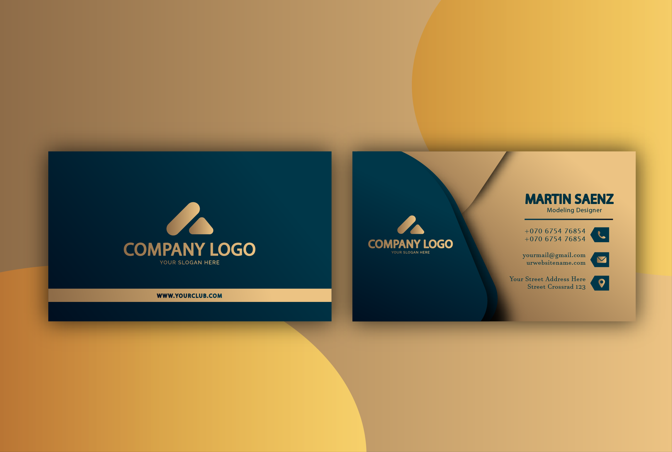 I will created professional design Business card