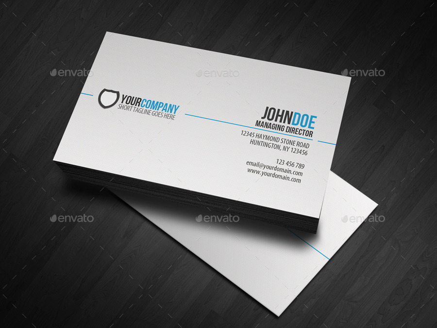 I will design creative business card for you.