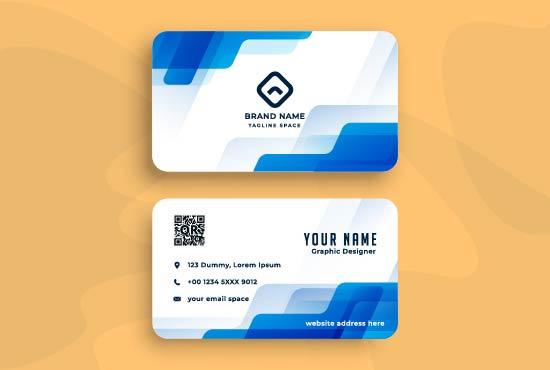 I will design unique and impressive bussiness card