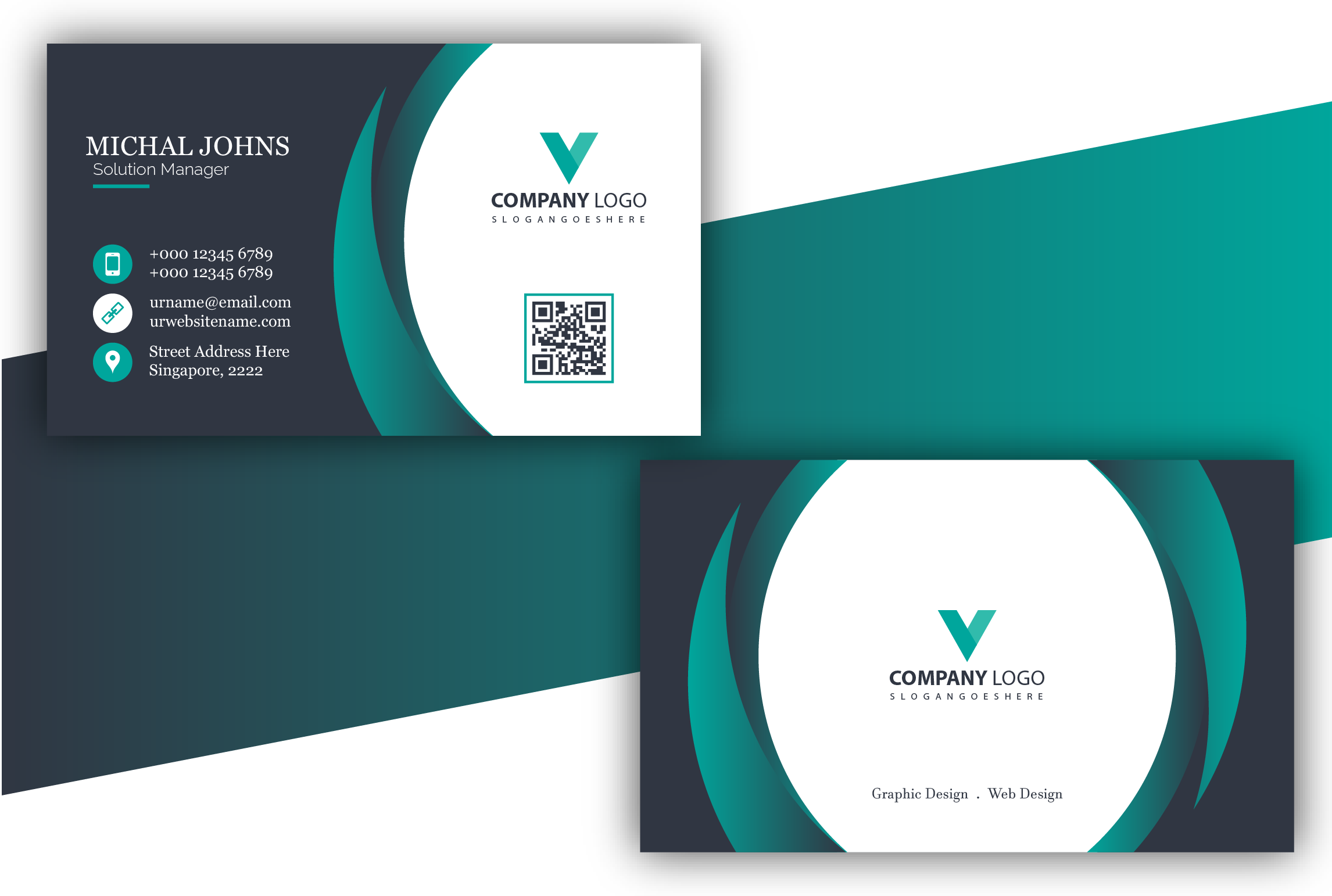 I will design unique business card for you.