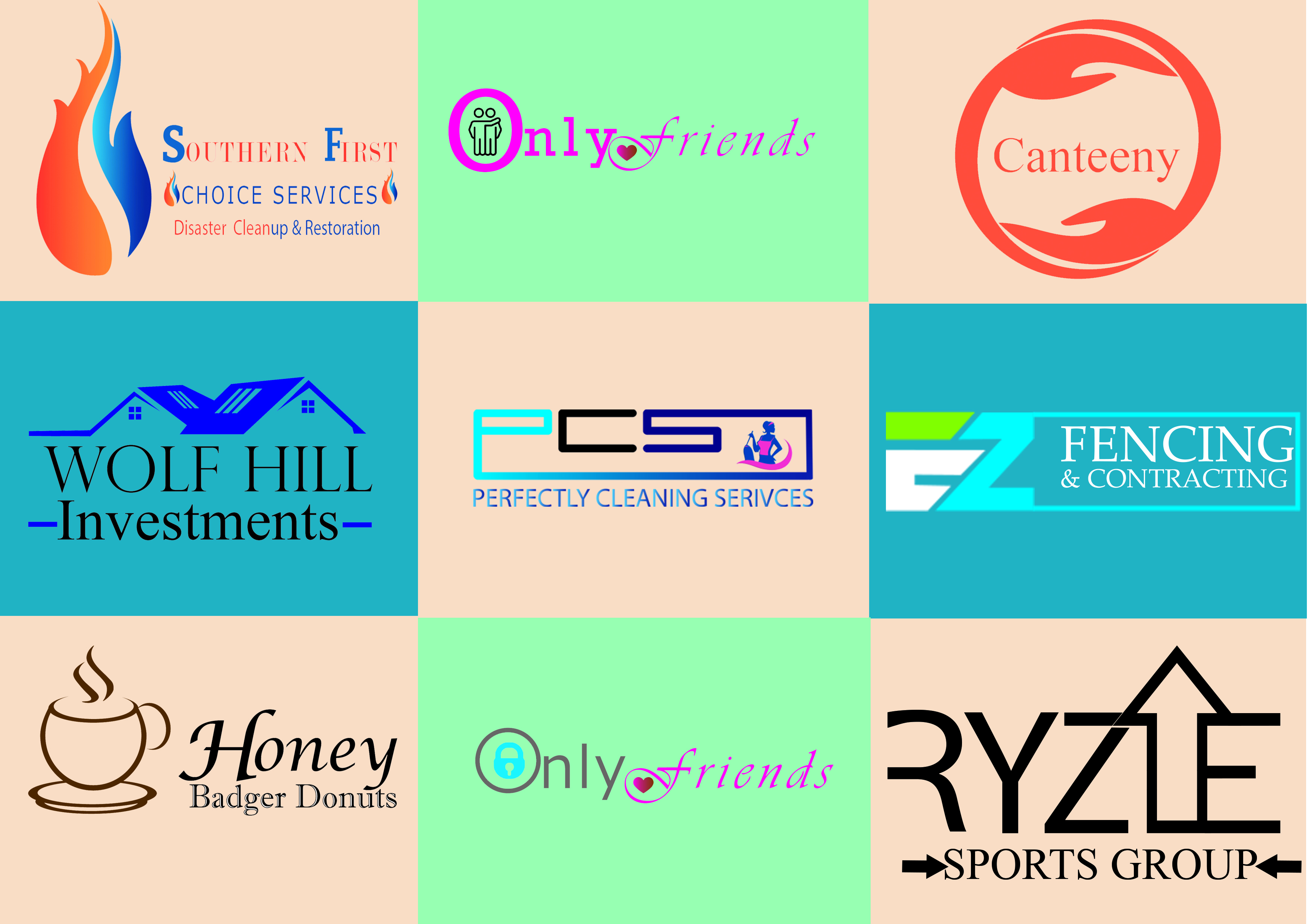 I will create a professional logo design and brand identity for your business