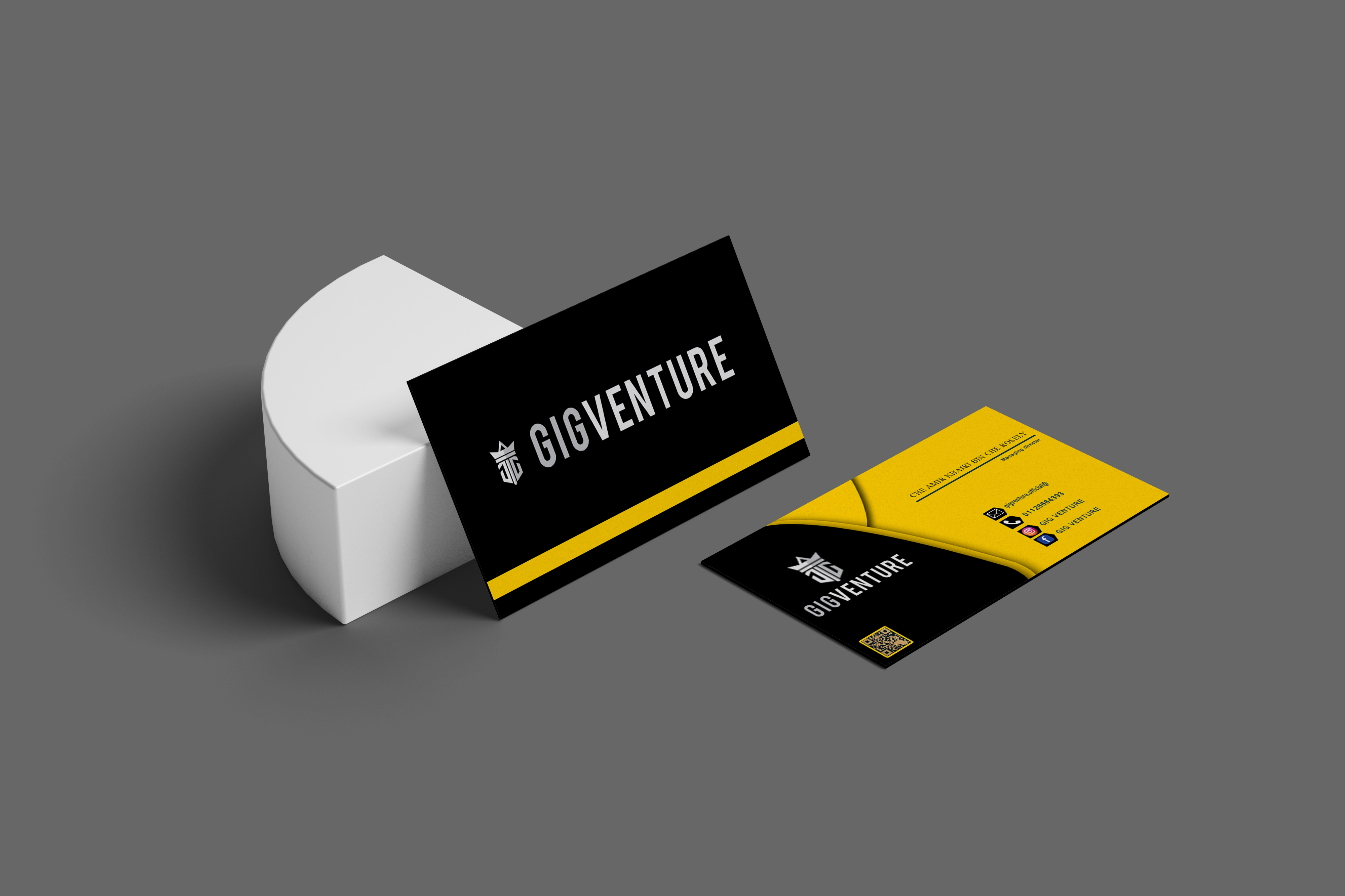 I will luxury modern minimalist business card and logo design