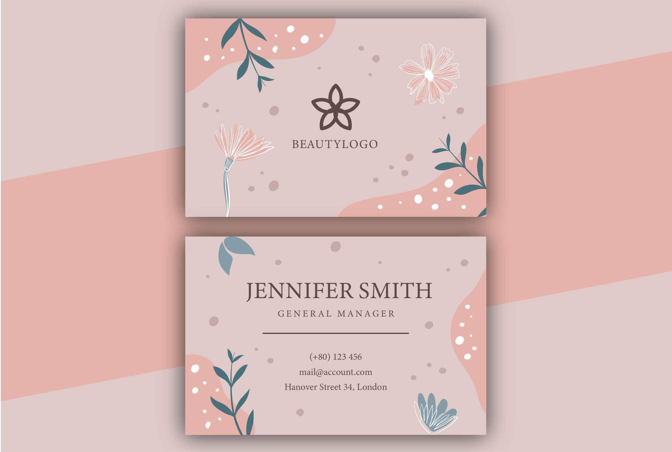 I will design a creative business card for you.
