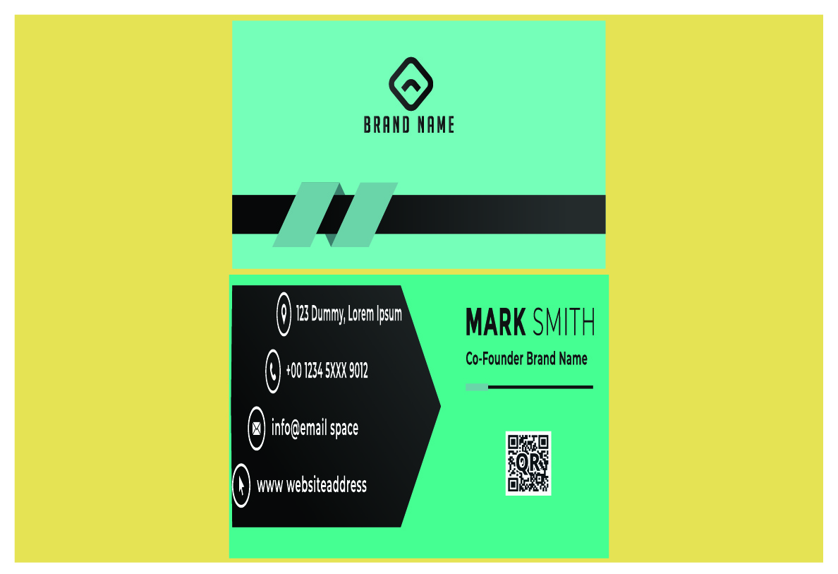 I will create professional business card designs