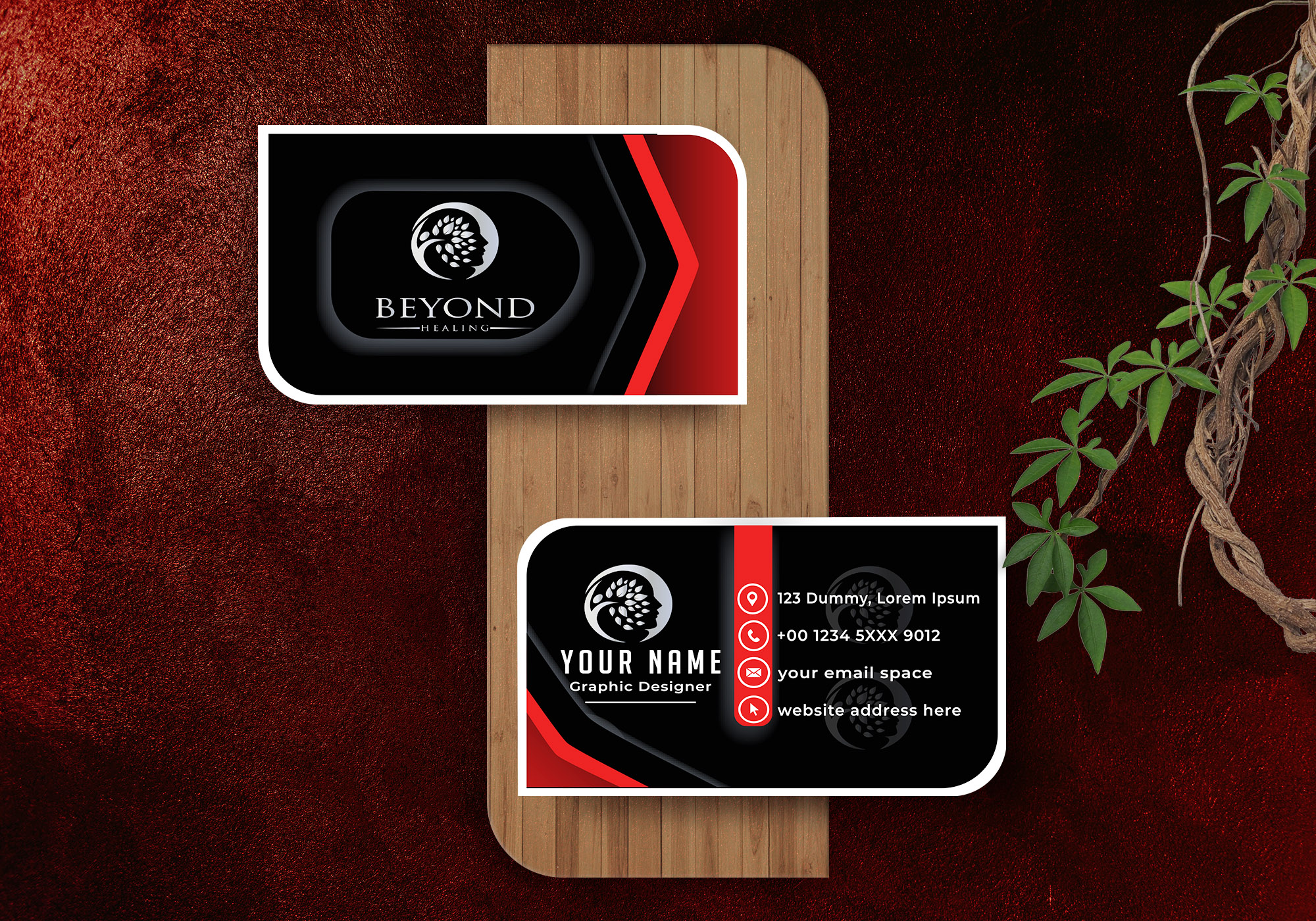 I will provide Attractive business card design for you