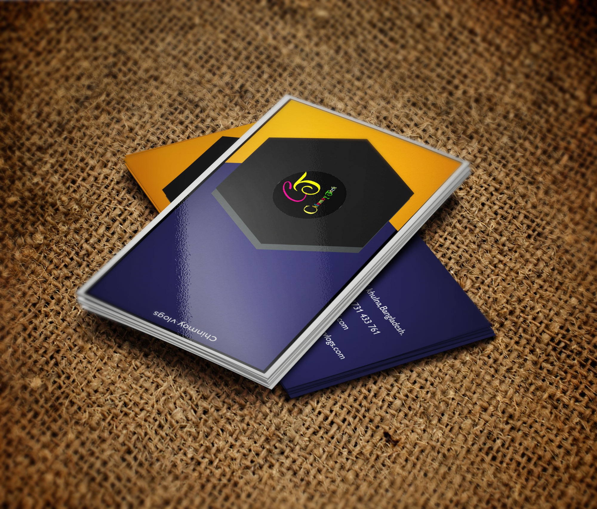 I will do professional business logo and business card design