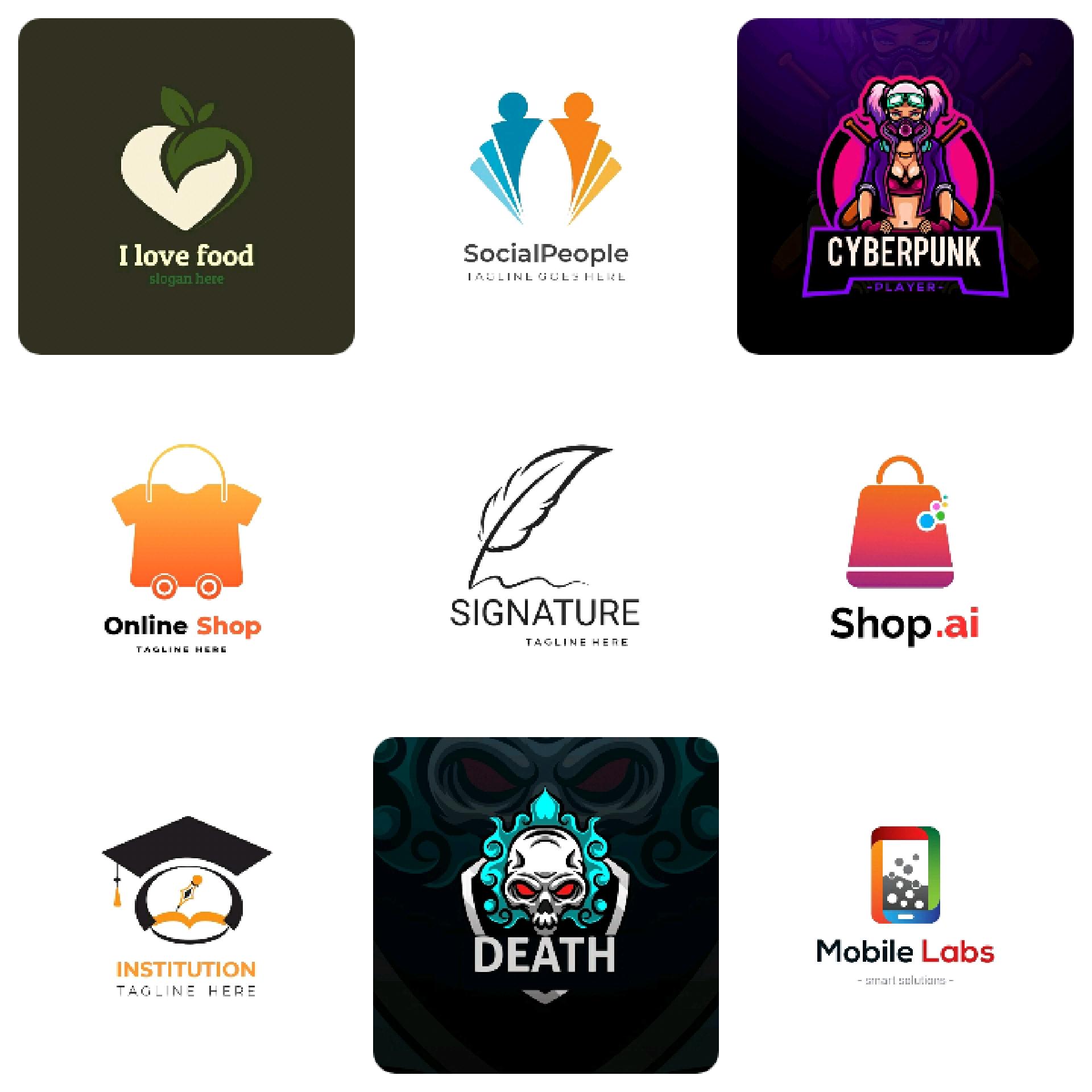 I am a professional logo designer,  I will design Morden and unique logo design as you want.