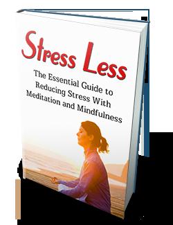 Stress less life with meditation