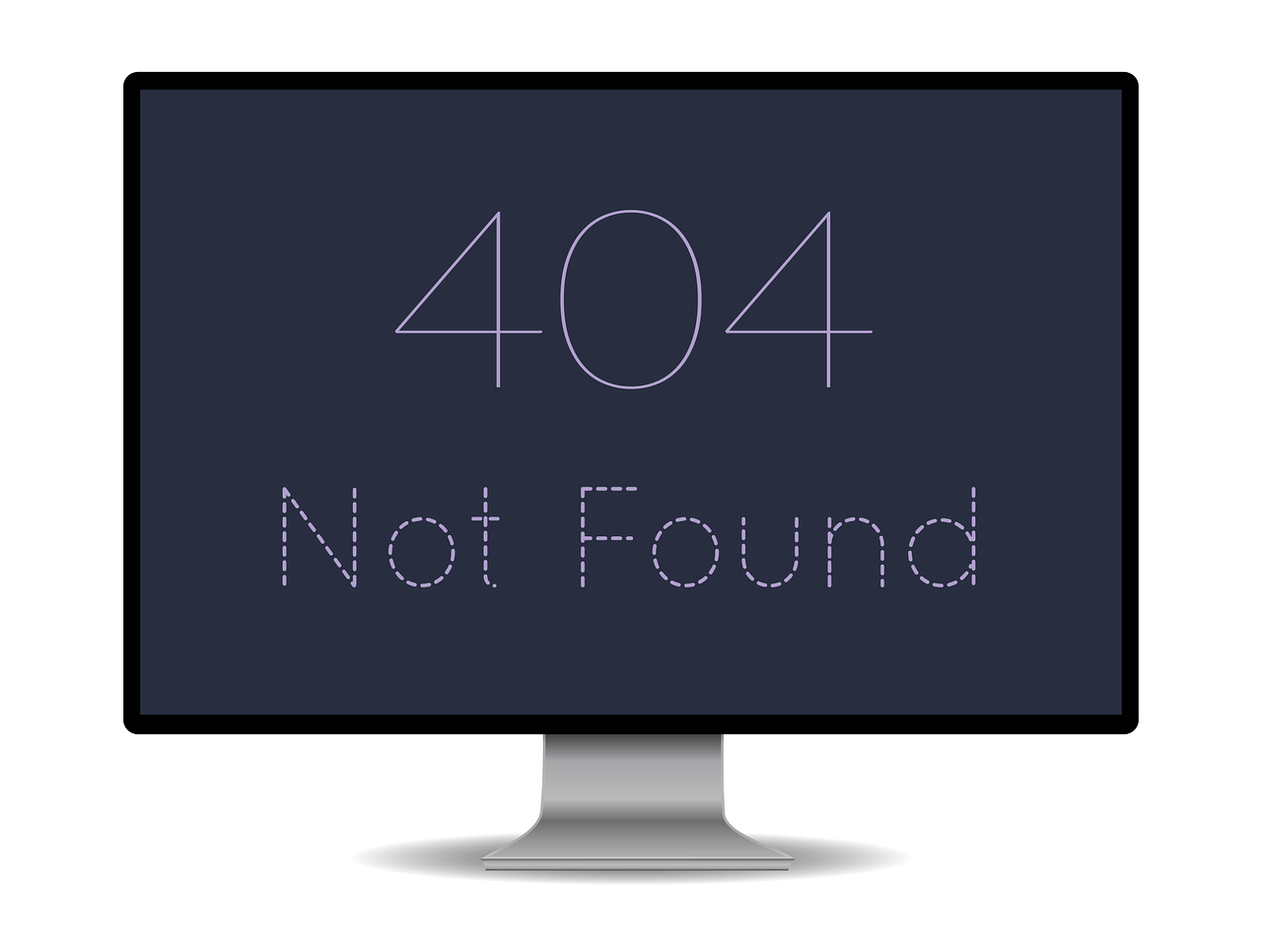 Eliminating 404 errors eliminates the risk of having your page de-listed