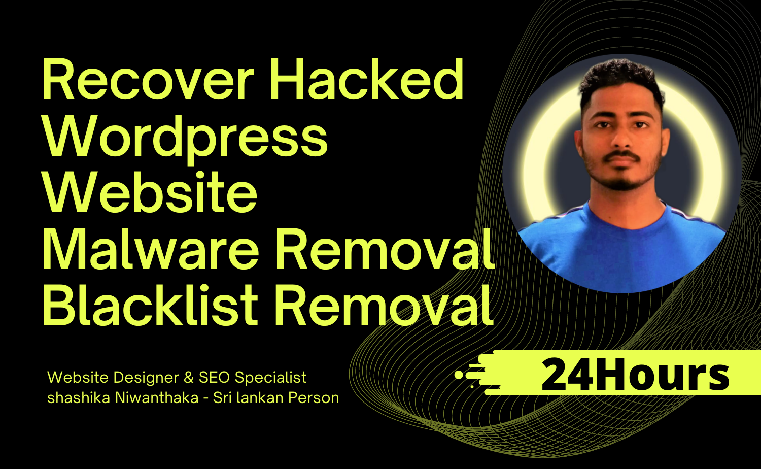 Recover hacked wordpress website security up and remove malware