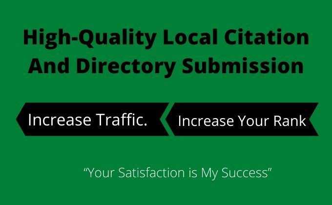 I will do 200 local directory submissions for any country