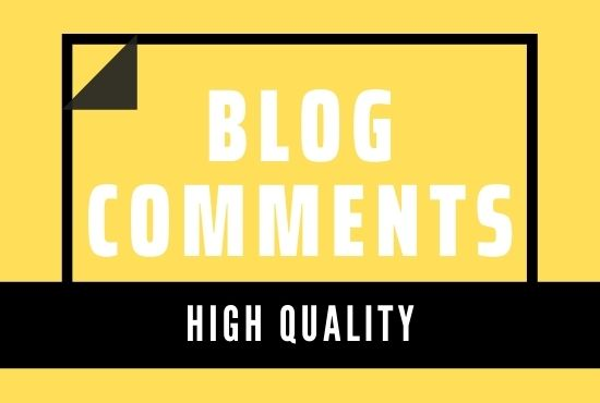 I will do promote your website with HQ 100 blog comments posting