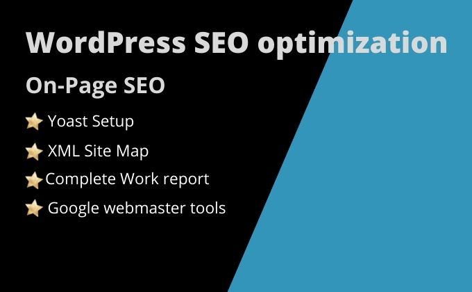 I will do quality on page SEO optimization service for WordPress website