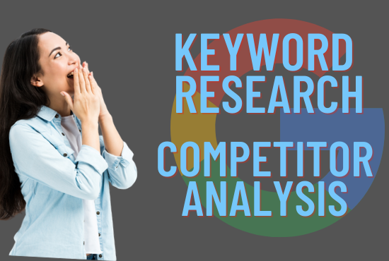 Keyword research and competitor analysis for your busniess