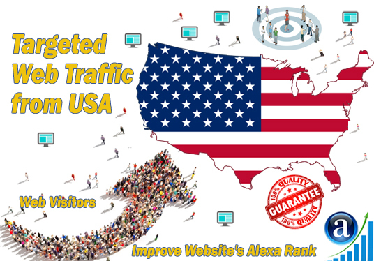 Send 50000+ USA UK CANADA Real Human Traffic to Your Website