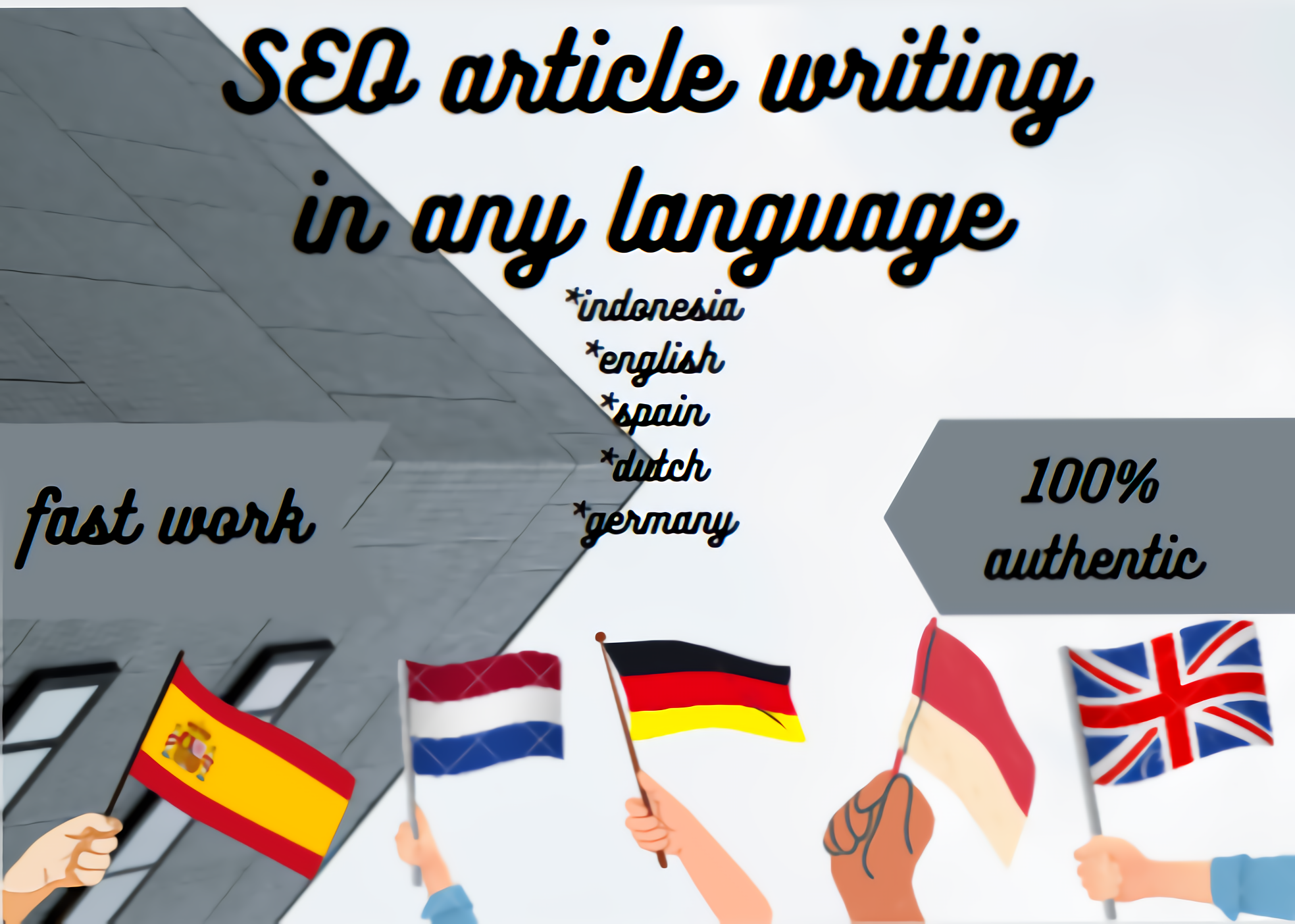 write your articles in multiple language up to 1000words