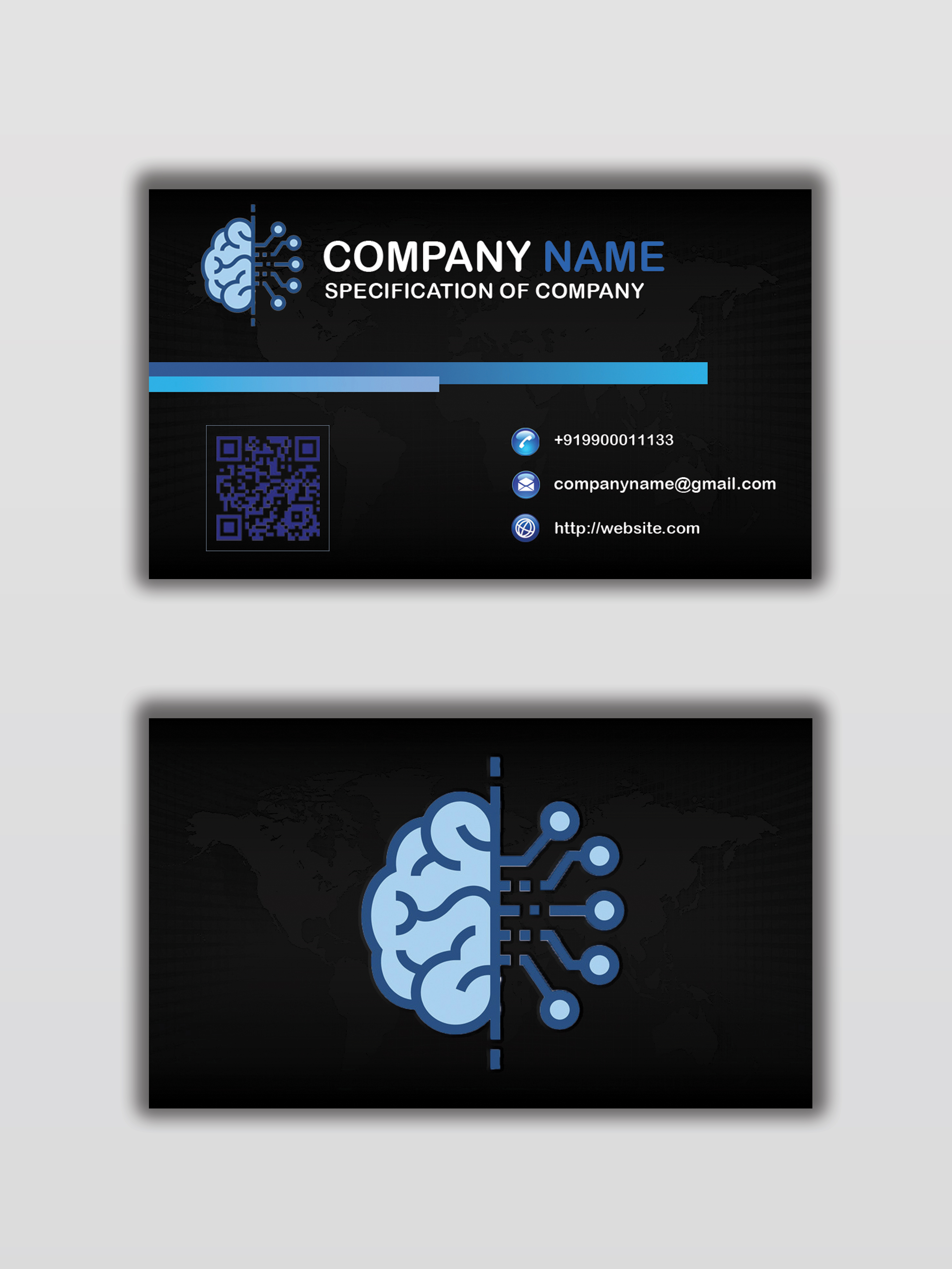 Want to have an outshine Business card