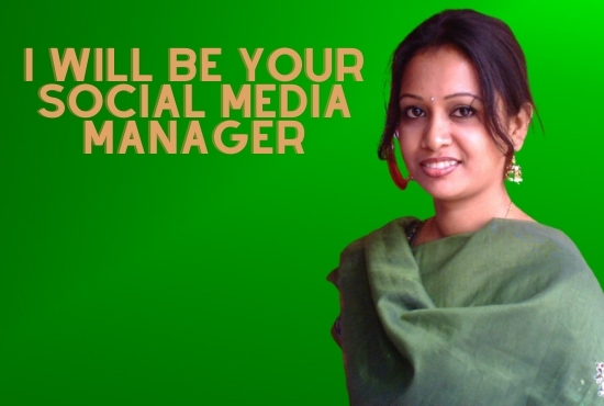 I will be your social media manager and personal virtual assistant