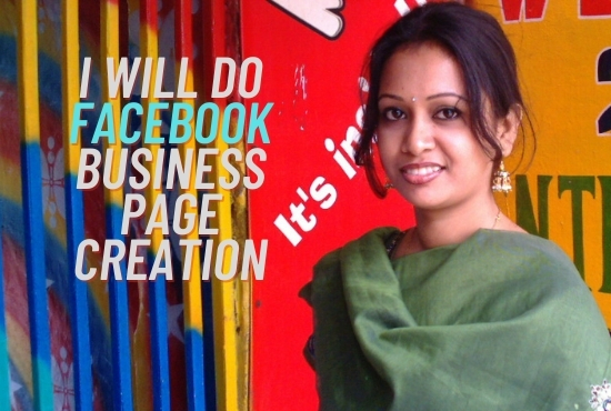 I will Facebook business page creation