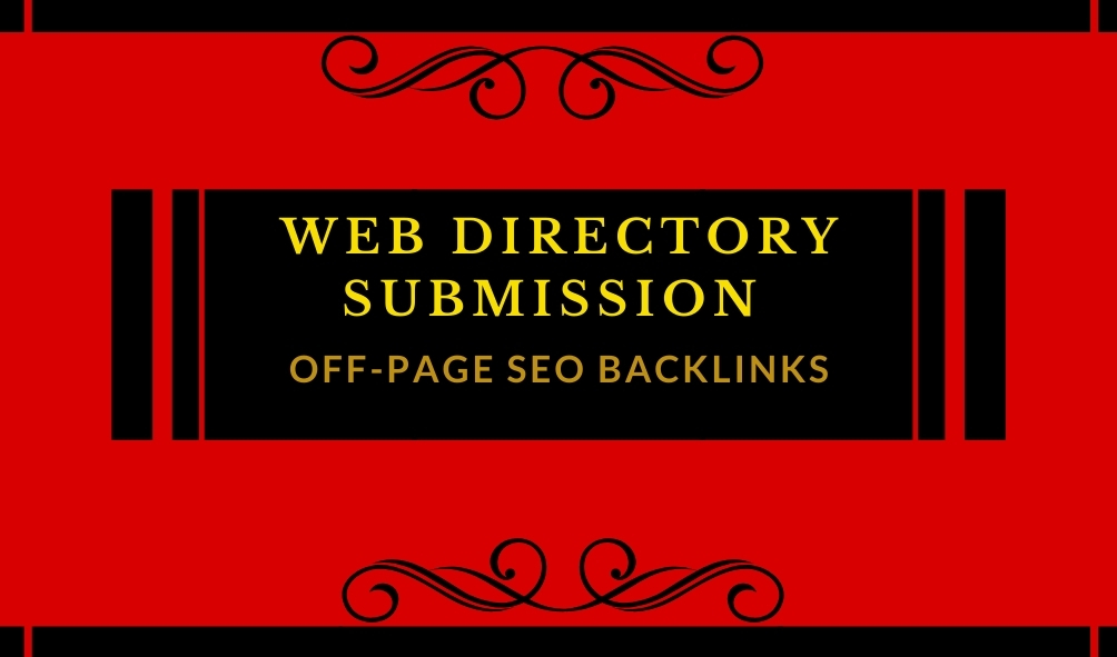 I will provide 100 web directory submission backlinks or local SEO citations for any country.
