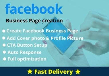 I will do Facebook Business Page creation