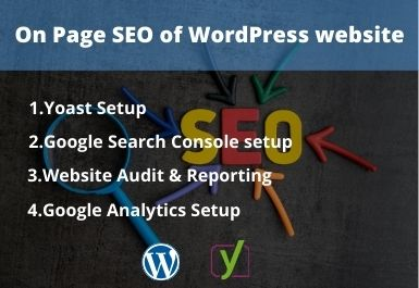 I will do On-Page SEO for your WordPress website
