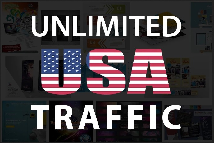 Unlimited USA Web traffic for 30 days