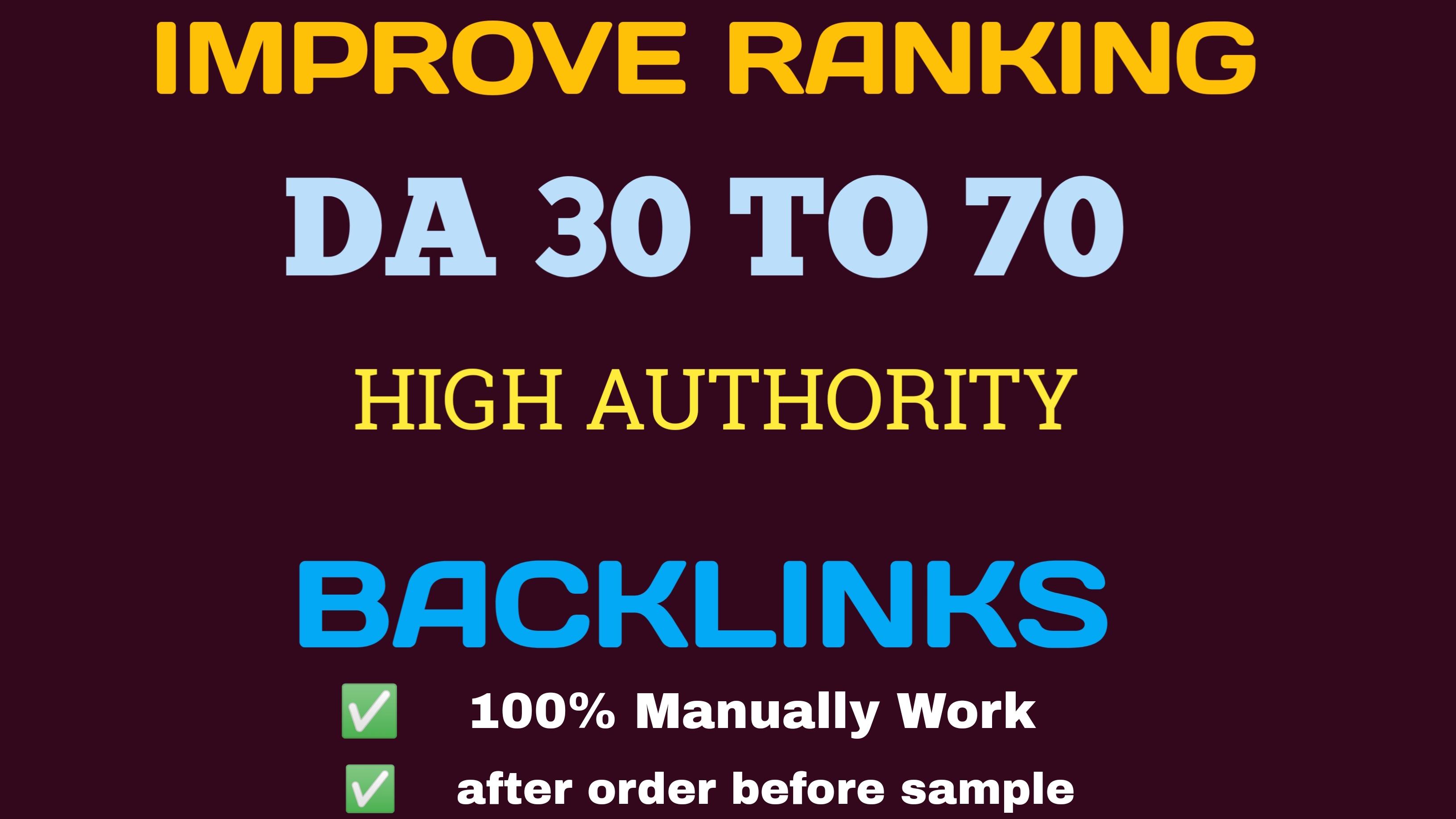 Quality dofollow SEO backlinks high authority 75 DA Backlinks building