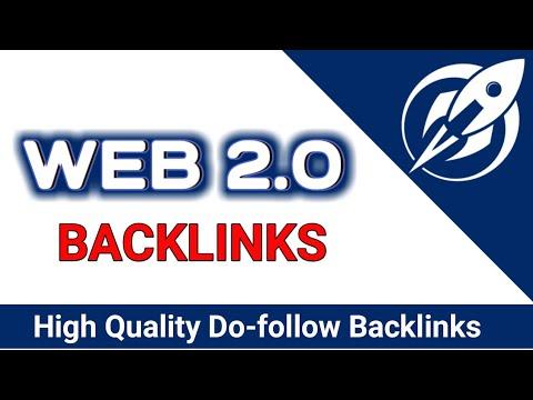 Build a safe link web 2 0 and 350+ backlinks