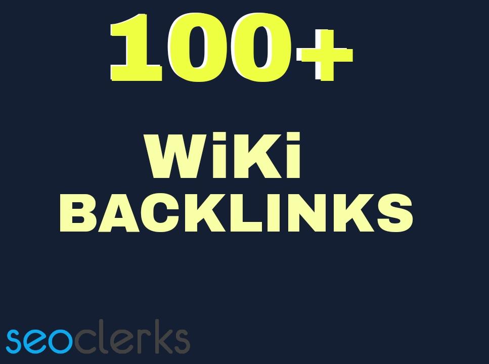 Get you 100 HQ. Wiki PR10 to PR6 Backlinks