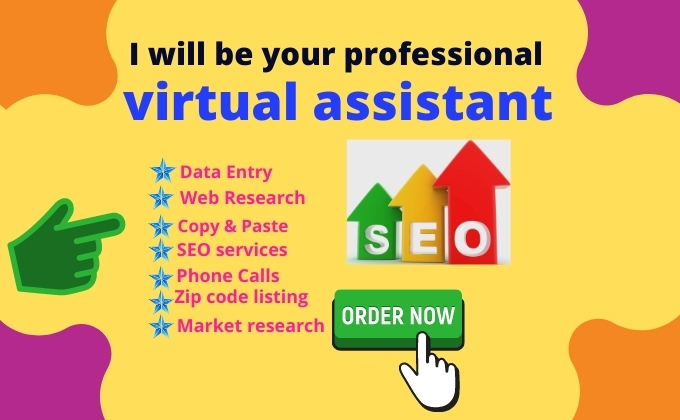 I will be your innovative virtual assistant expert