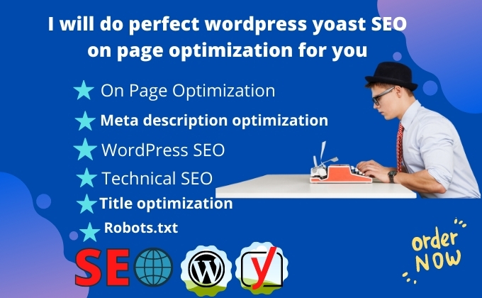 I will do on word press Yoast SEO or technical optimization for you