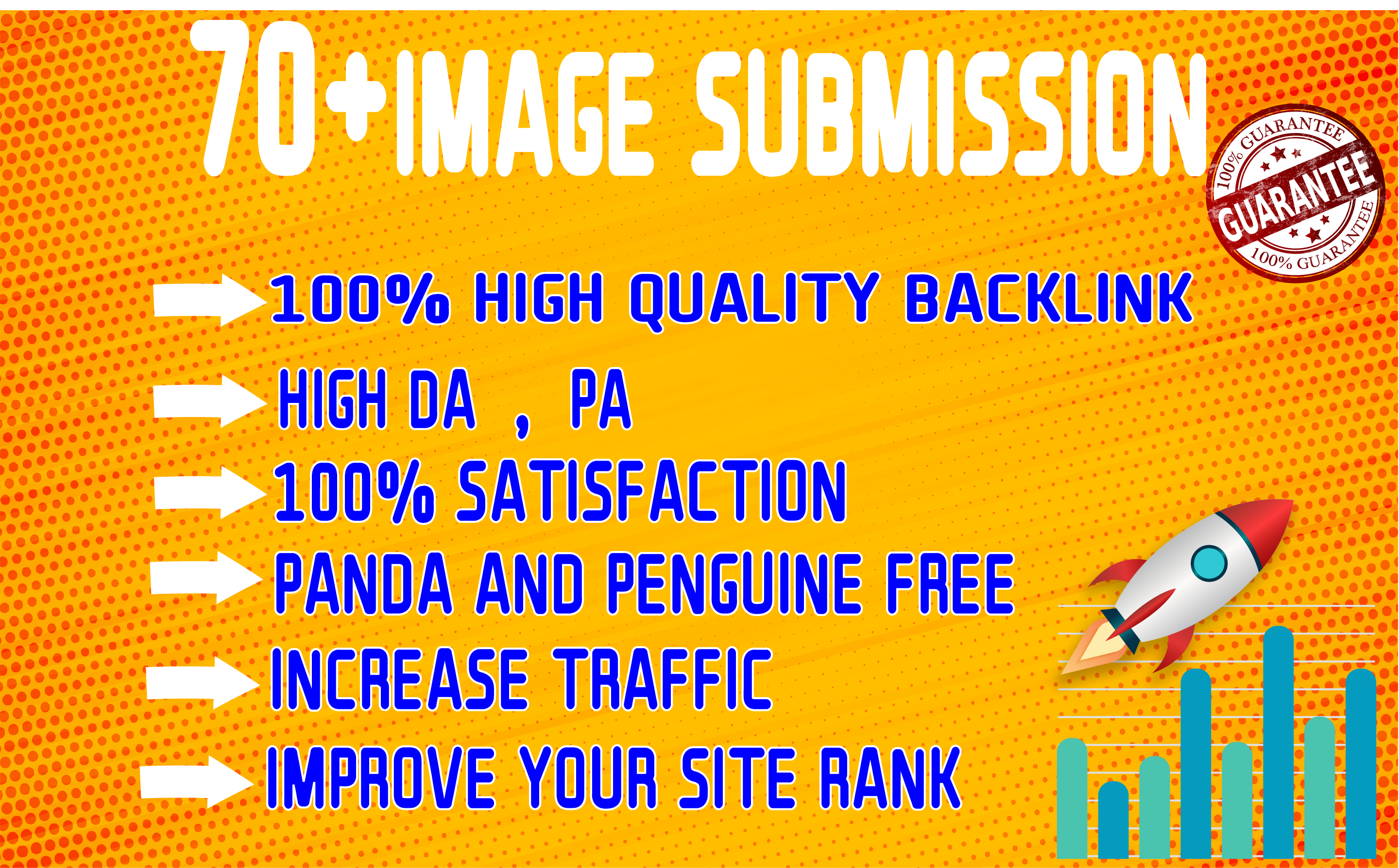 I will do infographic or image submission service to rank site