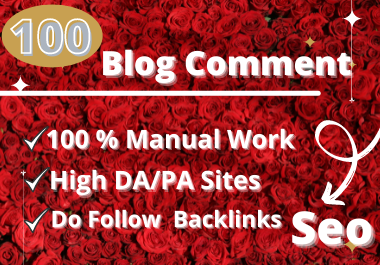 promote Your Website With 100 High Quality Blog Comments