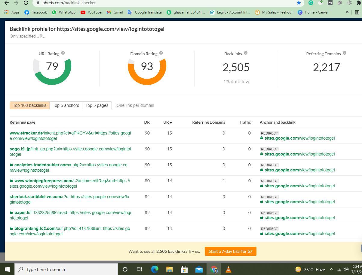 Manually increase URL rating 80 plus Dofollow Redirect Backlinks