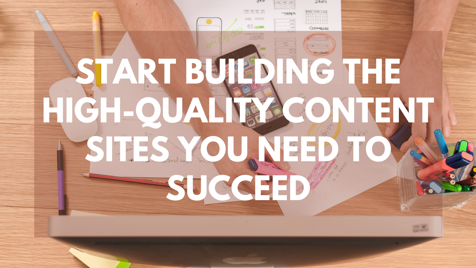 Fast content producer for Building High-Quality Content Sites