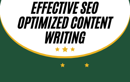1000 Words Effective SEO Optimized Content Writing