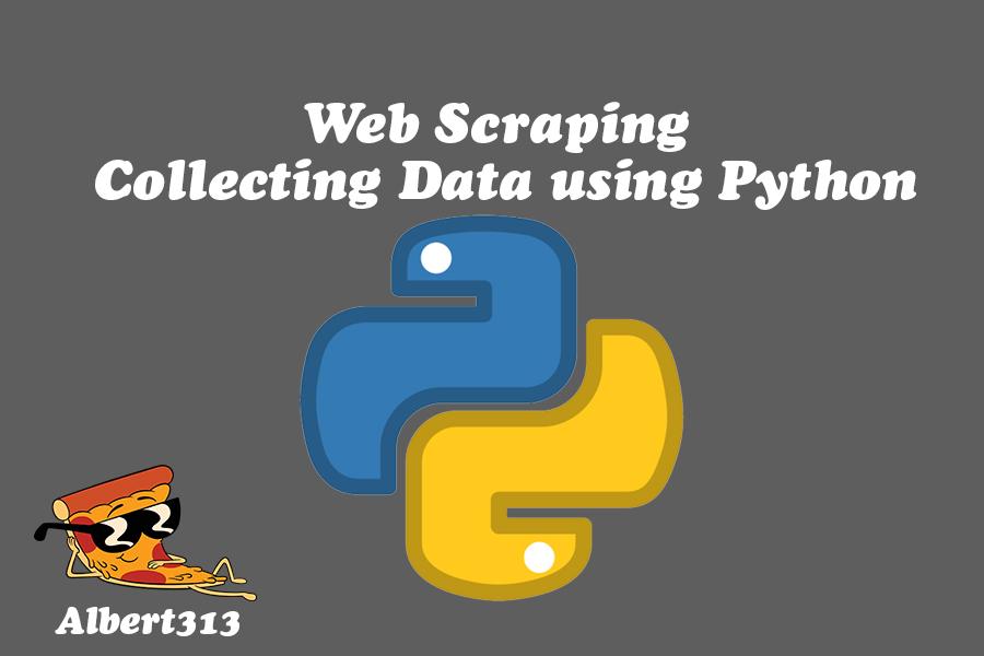 Web Scraping - Collecting data using Python