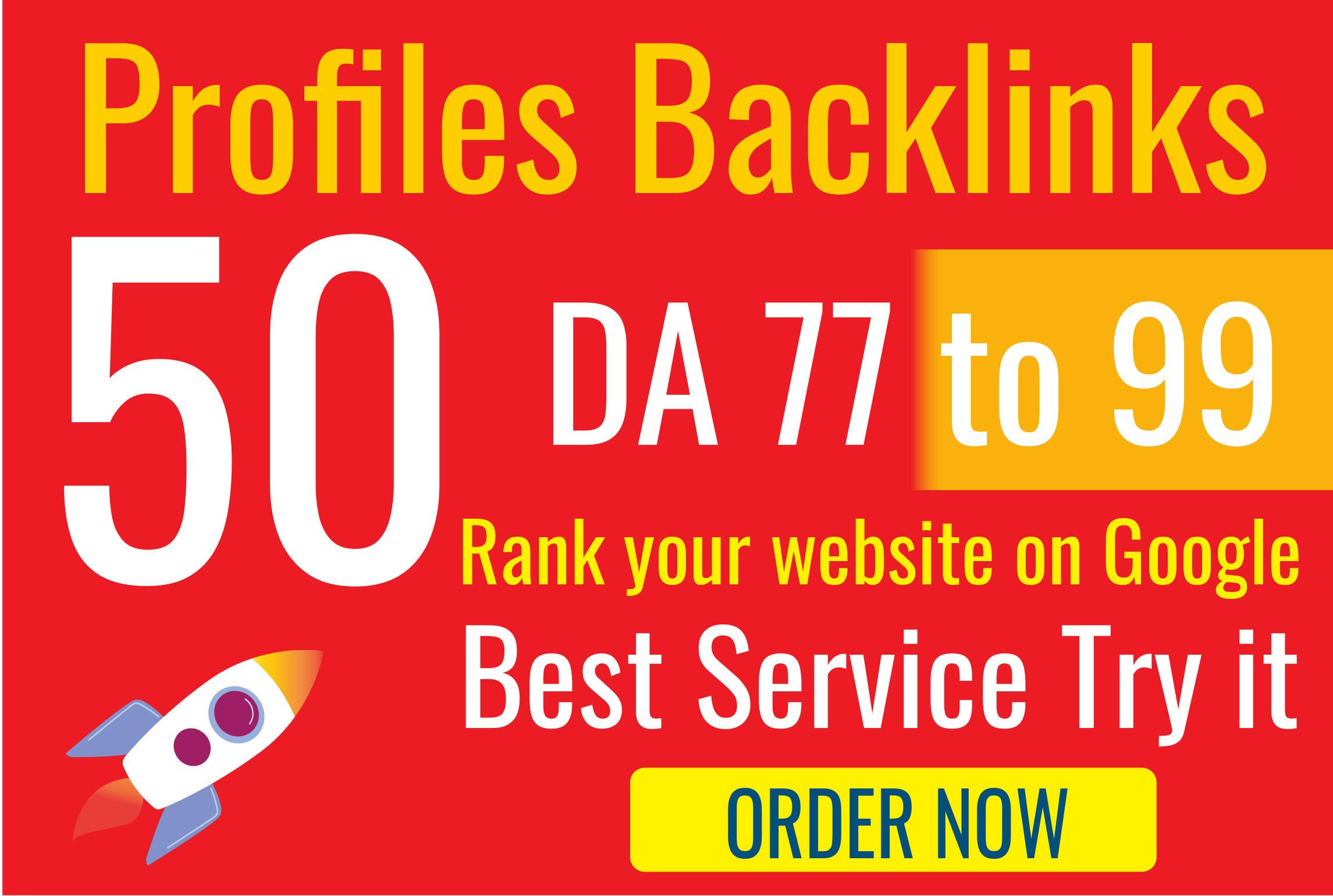I'll make 50 manual backlinks on high authority websites linkbuilding SEO and get free backlinks