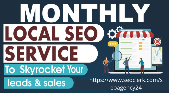 I will be your complete local SEO service provider for a month