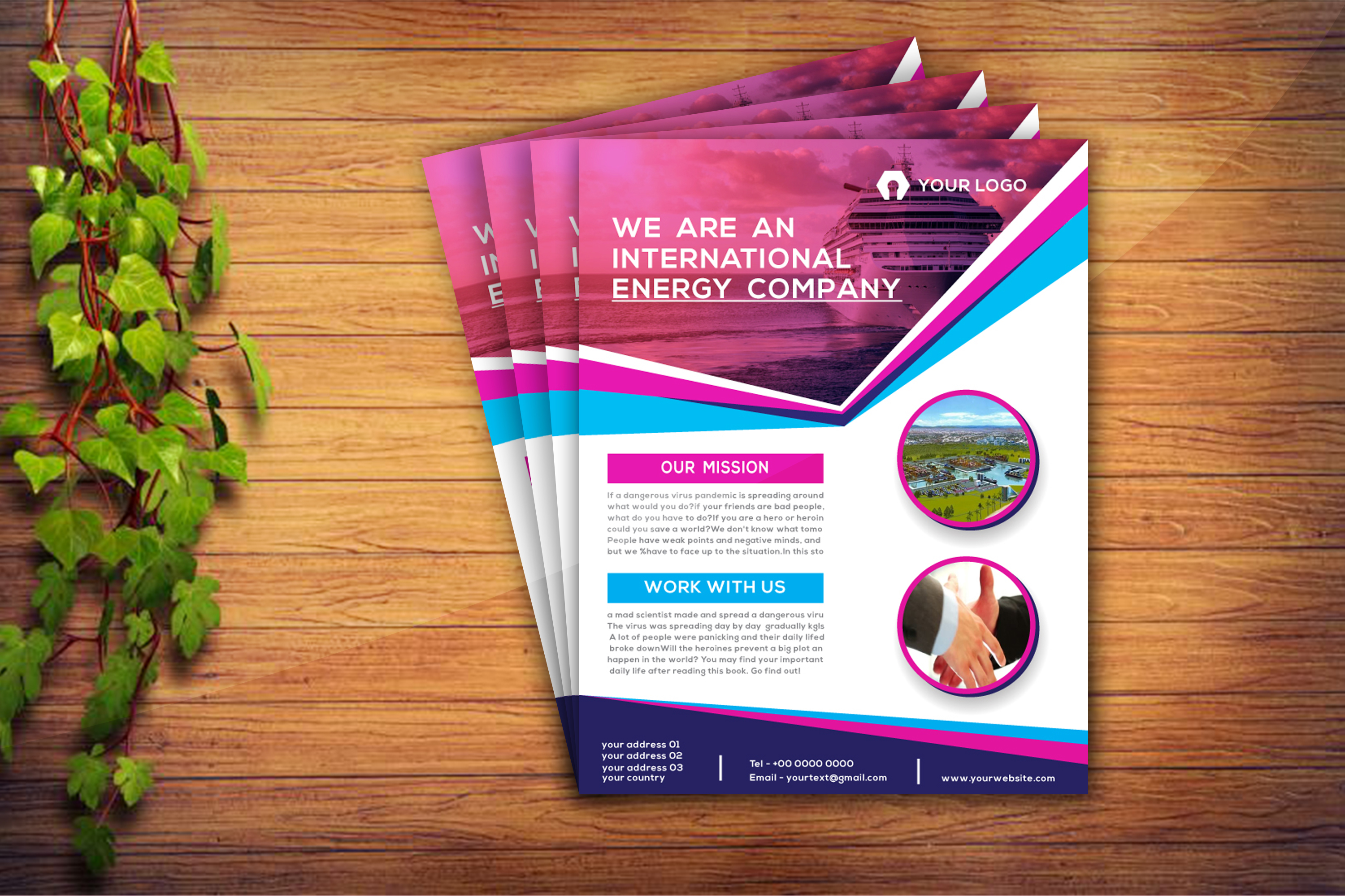 I will design a professional flyer design in your business