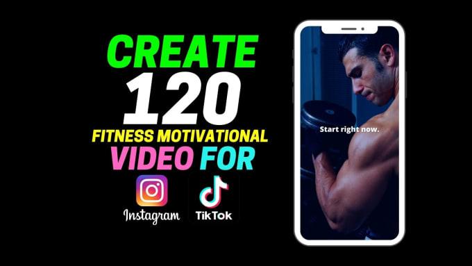 I will create motivational inspirational videos for tiktok,  instagram,  youtube,  facebook